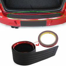 1x 90CM Black Strip Car Rear Bumper Cover Protector Trunk Scuff Plate Guard zh