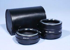 Nikon F fit Triplus Extension Tubes 20mm 36mm * Mint Condition