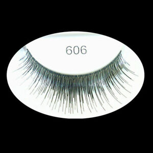 Künstliche Wimpern Falsche Unechte Wimpern False Strip Eyelash 606