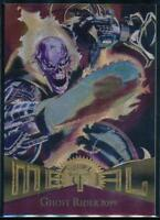 1995 Marvel Metal Trading Card #46 Ghost Rider 2099