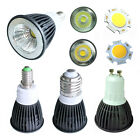 E14 E27 Gu10 3W 4W COB Cool / Warm White LED High Power Lamp Bulb Light 85V-265V