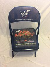 No Mercy Pepsi Arena Ringside wrestling  Folding Chair seat  2000 WWF WWE