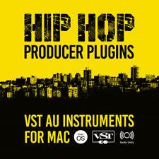 Hip Hop Producer Plugins / VST AU Instruments for Mac macOS OSX / Beats Samples