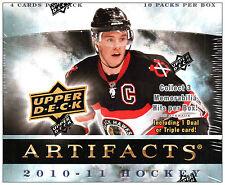 2010-11 UD Artifacts NHL Hockey Hobby Box