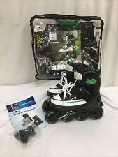 Crane Inline Roller Skates Size Kids 1-3.5 EUR 33-36