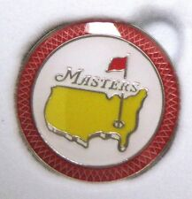 1 - 2015 Augusta Masters Official RED Rim BALL MARKER - SPEITH