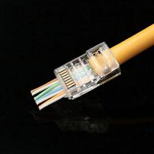 20PCS EZ rj45 cat5 connector rj45 plug cat5e network connector 8P8C unshielded