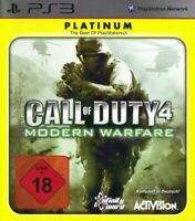 PS3 / Playstation 3 - Call of Duty 4: Modern Warfare [Platinum] DEUTSCH mit OVP