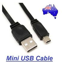 Mini USB Cable USB 2.0 A Male To Mini B 5 Pin Male PC Data Cable Cord Charger HQ