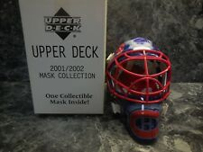 1  montreal canadiens 2001-2002 upper deck mask collection