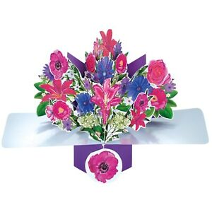 Mother's Day Card 3d Pop Up Gift Card
