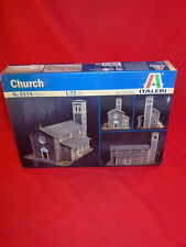 Italeri 1/72nd Scale Church Building Diorama Wargame Model Kit New In Box 6174