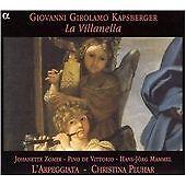 Kapsberger: La Villanella /L'Arpeggiata · Pluhar, Edin Karamazov,Eero Palviainen
