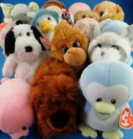 Soft Toys TY BEANIE PLUSH Peter Rabbit Peppa Pig Emoji Animals - Lots To Choose!