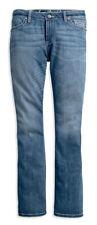 Harley-Davidson Curvy Boot Cut Embellished Flap Mid-Rise Jeans (99056-18VW)