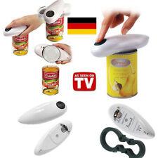 Elektrischer Dosenöffner One Touch Automatischer Büchsenöffner + Deckelöffner DE
