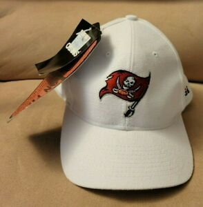 ULTRA RARE NWT 1990's TAMPA BAY BUCCANEERS NFL PRO-LINE WHITE ADJUSTABLE HAT CAP