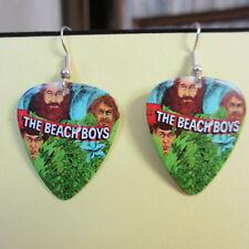 Beach Boys Earrings; Endless Summer; Guitar Pick Jewelry by Fierce; Silver Tone