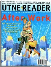 Utne Reader - 1995, May - Will You Be Out of a Job Tomorrow? We Could Be Better