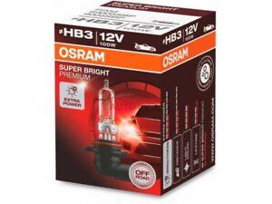UNA LAMPADA LAMPADINA ALOGENA 9005 OSRAM SUPER BRIGHT PREMIUM HB3 P20D 12V 100W