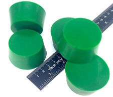 """(5) 1 5/8"""" x 2"""" #10 High Temp Silicone Rubber Plugs Powder Coat Coating Paint"""