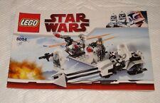 1 NEUE Bauanleitung StarWars Snowtrooper Battle Pack   (8084 1 Heft)