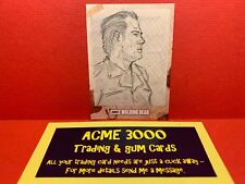 Topps Walking Dead HUNTERS and the HUNTED - MARLO AGUNOS Sketch Art Card - NEGAN