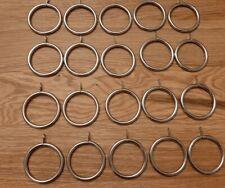 Metal curtain rings (20 pcs)