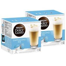 Nescafe Dolce Gusto Cappuccino Ice, 2 x 16 Capsules (16 portions)