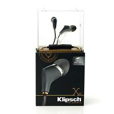 New Klipsch Reference X6i In-Ear Headphones for iPhone/iPad Black Sealed Retail