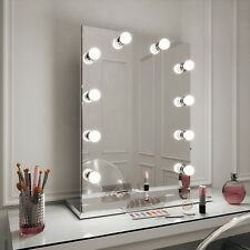 Hollywood Mirror Diaz illuminato Trucco Vanità Specchio Ritratto 80 x 60 NO BASE
