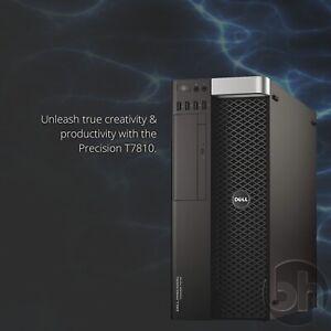 Dell T7810 Xeon 2x E5-2697 V3 14-Core 128GB DDR4 Precision CAD Workstation PC