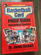 1993 Sport Americana Basketball Card Price Guide #3 by Beckett Good unmarked