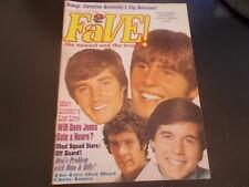 Jonathan Frid, The Monkees, Andy Kim - Fave Magazine 1969