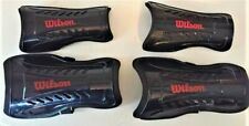 2 Pair Wilson Youth Black Wth5200 Youth soccer shin guards Sm & Lg