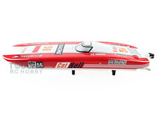 Us Stock Dt Rc Electric Boat W/Fiber Glass E51 Pnp Dual-motors Cooling system