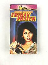 Friday Foster VHS Soul Cinema Pam Grier 1975 Cult Classic  Yaphet Kotto Eartha