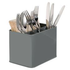 GA Metal Kitchen Cutlery Storage Holder Stand Utensil Container Pot - 4 Section