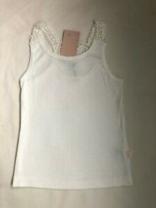 AYA NAYA WITH LOVE LACE DETAIL VEST TOP - NEW WITH TAGS