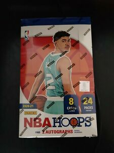 2020-21 NBA Hoops Hobby Box RANDOM TEAM BREAK LaMelo Ball 28 Spots SOLD *READ*