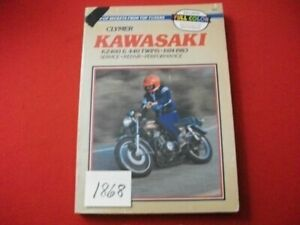 VINTAGE 1974-83 KAWASAKI KZ400 & 440 TWINS SERVICE-REPAIR-PERFORMANCE MANUAL
