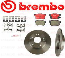 BREMBO Rear Disc Rotors & Pads Acura ILX 13-15 ; Honda Civic NEW