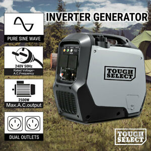 Inverter Generator Pure Sine Wave 2.5KW Max 2KW Rated  Portable Camping Petrol