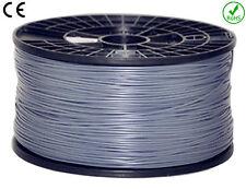 Filament PLA 1,77 mm 1 kg Ce-RoHs Fil imprimante 3D - Gris (PLA175GRI)