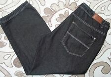 44x32 ROCK N RUN Classic RELAXED Mens Jeans BLACK loose seat thigh FAST!
