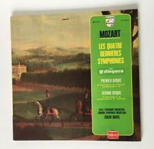 MOZART LES 4 DERNIERES SYMPHONIES 2 VINYLES COLIN DAVIS / 33 T LP PHILIPS