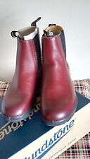 BLUNDSTONE 1443 Womens Boots Burgundy Size 6 BNIB