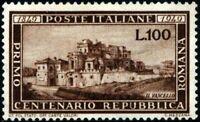 Repubblica - 1949 - Repubblica Romana - nuova MNH - Sassone n.600