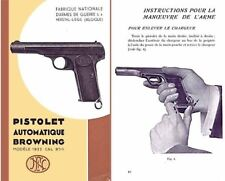 Browning 1936 Pistolet Automatique Modele 1922 (9mm) Catalog