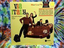 Carlo Capone Orchestra Via Italy MONO Compose Records 98002 Sealed LP RaRe !
